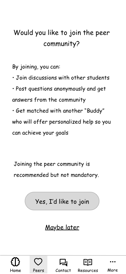 community opt-in